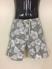 New Men's TRUNKS Surf & Swim Co. Swami Floral Beach Wear Pants Size Small