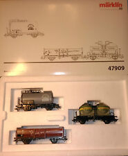 Set de 3 vagones de mercancías Marklin ref. 47909