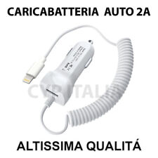 Carica Batteria da Auto per Apple iPhone Lightning 8PIN 5 6 7 8 Plus X TOP 2.1A