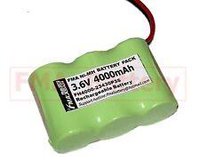 EXIT Emergency light backup battery Ni-MH Sub C 3.6V 4000MAH w/DC5521 3SB