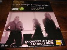 ULTRA ORANGE & EMMANUELLE - PUBLICITE SING SING !!!!!!!