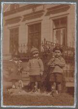 19/47 FOTO ANTONIWALD VILLA RIEDEL   SUDETEN TSCHECHIEN KINDER OSTERN 1926