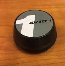 AVID1. AV-12 Black Replacement CENTER CAP C-215 SNAP IN Av-12  Avid1 Wheels (1)