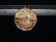 """Medaglia in bronzo Nave """"Perseo"""" F566 Marina Militare Italiana, anno 1978"""