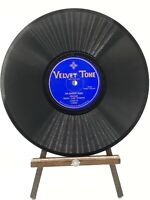 """Jack Turner """"Hobo"""" 78 RPM - The Bowery Bums / The Bums Rush - Velvet Tone 1740-V"""