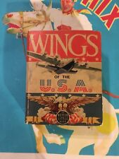 VG+ 1940 WINGS OF THE USA BETTER BIG LITTLE BOOK