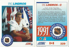 100 Card Lot 1991 Score Canadian Eric Lindros #329 RC Rookie card HOF Flyers