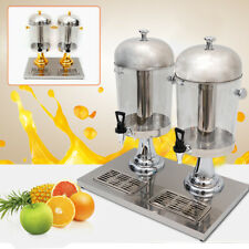 16L Drink Beverage Juice Dispenser 2 Tanks Commercial Restaurant USE Buffet AU