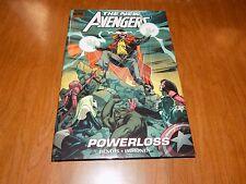 "The New Avengers ""Powerloss"" (#55 - #60) hardback Marvel Premiere Edition TPB"