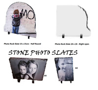Personalised Photo Printed Rock Slate
