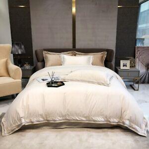 Bedding set 4pcs Super warm soft Silk velet quilt cover flat sheet 2 pillowcases