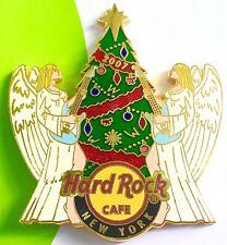 2007 HARD ROCK CAFE NEW YORK CHRISTMAS TREE & ROCKIN' ANGELS LE PIN