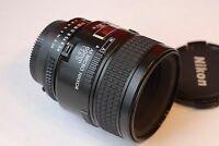 Nikon AFD 60mm f/2.8 D Micro Nikkor Lens in Excellent+ Condition