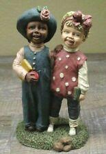 "As-Is All Gods Children ""Judy & Jewel"" Martha Holcombe Figurine #9"