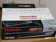 NEW Toshiba HD-A30 1080p HD DVD Player with 300 and The Bourne Identity