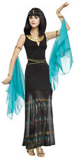 Ancient Egyptian Queen Fancy Dress Outfit Costume - Size S-M