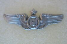 US USA USAF Air Force Senior Air Crew Wings Military Hat Lapel Pin