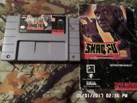 Shaq Fu w/ Instruction Manual (Super Nintendo Game SNES)