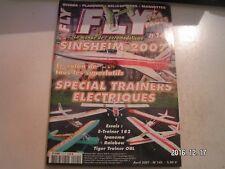** Revue Fly International n°145 Plan encarté Le H Wing / Dragonstick
