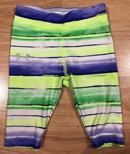 Baby UNDER ARMOUR Pants Size 12 Months Green Purple And Yellow Striped