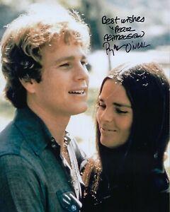 GFA Love Story '70 Movie ALI MacGRAW & RYAN O'NEAL Signed 8x10 Photo L3 COA
