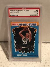 1990 Fleer ALL-STARS #2 - LARRY BIRD - PSA 9 Mint - Boston CELTICS