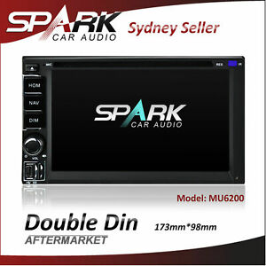 DOUBLE DIN UNIVERSAL SAT NAV GPS DVD BT USB NAVIGATION STEREO RADIO BLUETOOTH