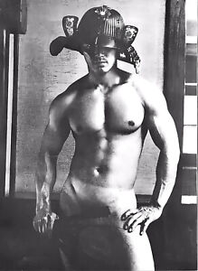 "Tamotsu Yato Vintage Photo Japan Male Nude Gay -17"" x 22"" Fine Art Print - 01131"