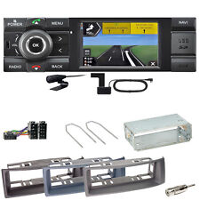 Kienzle MCR 1031 Nav Navi Digitalradio USB Einbauset für Renault Megane Scenic 1