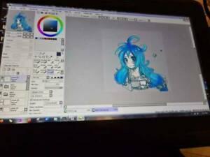 Wacom Cintiq Hybrid Drawing Tablet