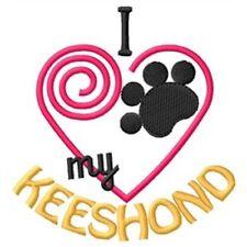 "I ""Heart"" My Keeshond Sweatshirt 1340-2 Sizes S - Xxl"