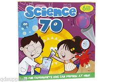La SCIENZA PER BAMBINI KIT 70 in casa esperimenti Fun & Educativo Bambini Set 553004