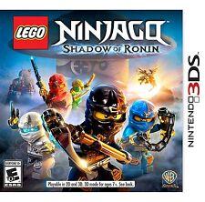NEW LEGO Ninjago: Shadow of Ronin (Nintendo 3DS, 2015)