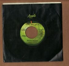 BADFINGER - Come And Get It - APPLE 70s rock 45 + sleeve NICE NM