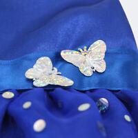 Blaue Pailletten ärmelloses Kleid für 18 Zoll American Doll Party Kleidung