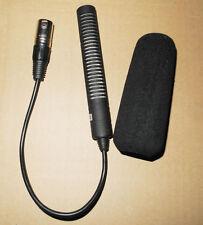 Caméra pro condenseur vidicon réunion d'enregistrement Microphone XLR 3 broches interview