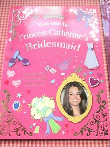 Royal Wedding 2011 Children's Activity Book - Princess Catherine's Bridesmaid