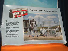 WALTHERS CORNERSTONE SERIES HO SCALE #933-3025 NORTHERN LIGHT AND PWR SUBSTATION