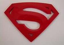 SUPERMAN 3D EMBLEM,BADGE,DECAL,STICKER  FOR CARS TRUCKS AND BIKES  US SELLER.