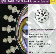 Polish Chamber Philharmonic, Ludwig van Beethoven - Symphonies 7 & 8 [New SACD]