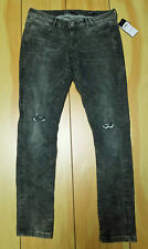 GUESS Women's Shuttle Grey Wash Stretch JEGGING JEANS NEW 31 grey/black wash