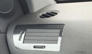 Gloss Carbon Fibre effect dash + air vent trim to fit OPEL ASTRA H Mk5 2004–2010
