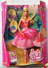 Barbie Pink Shoes Doll 2013 Mattel Kristyn Farraday Ballet Giselle Odette