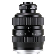 Zhongyi Mitakon 20mm f/2 4.5X Super Macro Lens for Mirrorless micro 4/3 GH4