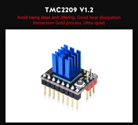 5PCS New Stepper Motor Driver Module with Heat Sink for 3D Printer TMC2209 V1.2