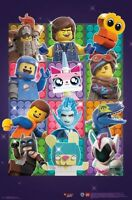 LEGO MOVIE 2 - CHARACTER COLLAGE POSTER - 22x34 - 17414