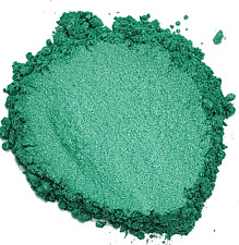1.5oz Natural Emerald Green Mica Pigment Powder Soap Making Cosmetics - 1 1/2oz