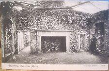 Irish Postcard MUCKROSS ABBEY Refectory Matte Photo Killarney Ireland Valentine