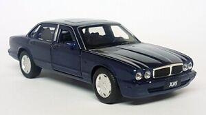 Tayumo 1/36 Scale - Jaguar XJ6 (X300 Etc)  Sapphire Blue LHD Diecast model car