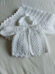 Handmade Crochet Baby Blanket Set